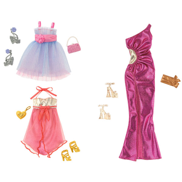 robe de soir e barbie mattel king jouet accessoires de. Black Bedroom Furniture Sets. Home Design Ideas