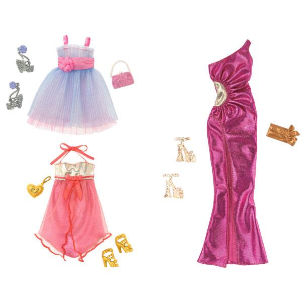 Les Jours De Barbi : Robe de soirée barbie mattel king jouet accessoires