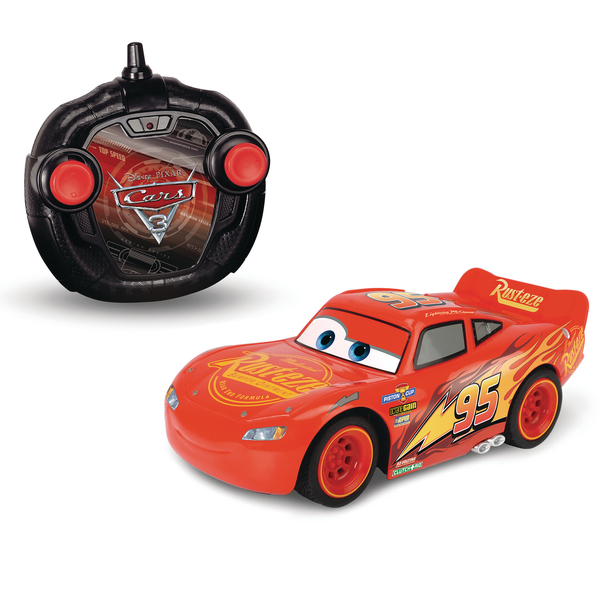 voiture rc flash mcqueen 1 24 me cars 3 majorette fonction turbo majorette king jouet. Black Bedroom Furniture Sets. Home Design Ideas