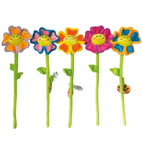 peluche fleur qui sourit ami plush king jouet peluches ami plush poup es peluches. Black Bedroom Furniture Sets. Home Design Ideas