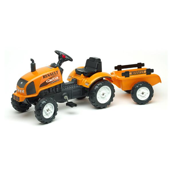 tracteur renault avec remorque falk king jouet v hicules voitures p dales falk sport et