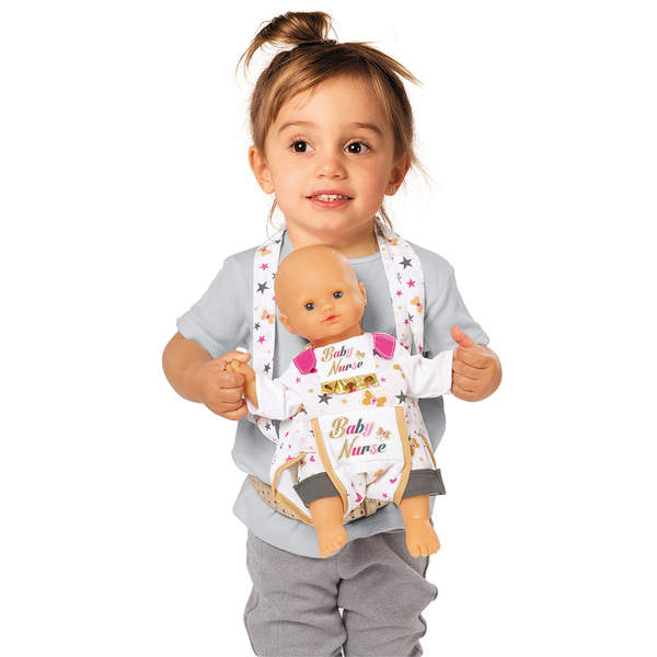 sac porte b b baby nurse baby nurse king jouet poupons b b s baby nurse poup es peluches. Black Bedroom Furniture Sets. Home Design Ideas