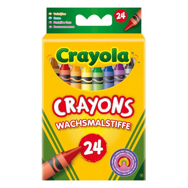 24 Crayons à la Cire