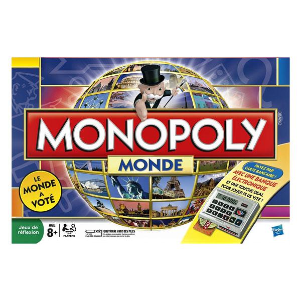 Monopoly monde électronique pour 60€