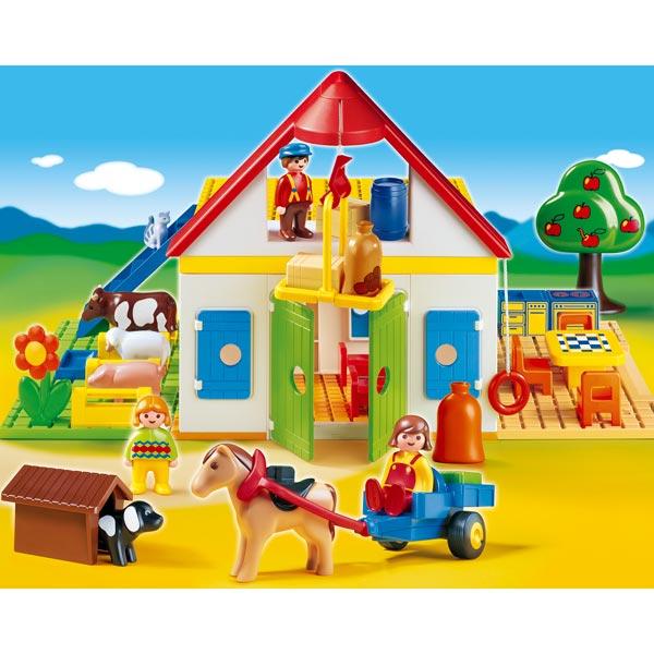 Playmobil pour enfant premier ge et b b personnages for La granja de playmobil precio