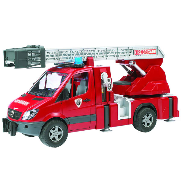 camion de pompier mercedes bruder king jouet les autres. Black Bedroom Furniture Sets. Home Design Ideas
