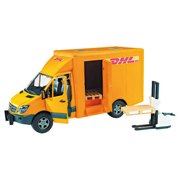 Camion dhl mercedes sprinter bruder king jouet v hicules de chantier et tr - Livraison pas de porte ...