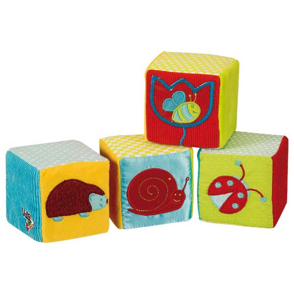 Cubes d 39 veil sophie la girafe vulli king jouet - Table d eveil sophie la girafe ...