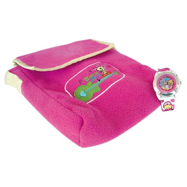 Set montre rose titi pour 48€