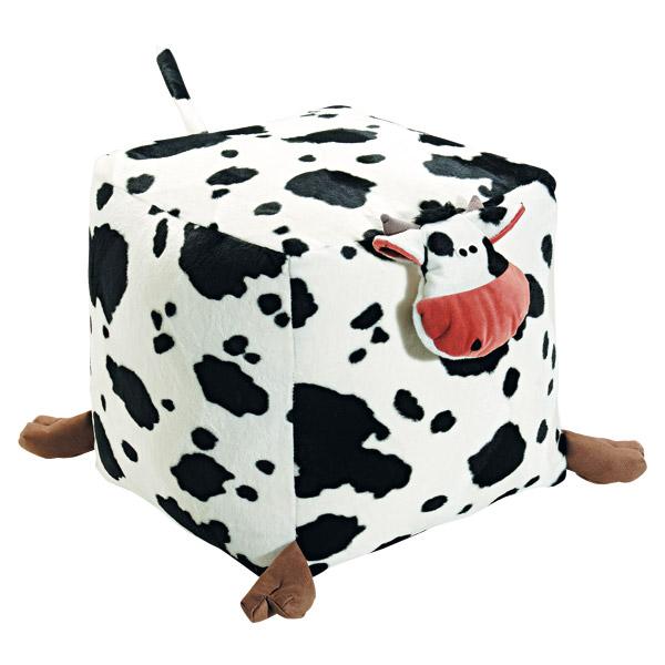 Pouf vache pour 25€
