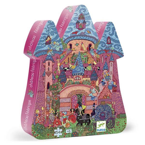 Puzzle 54 pièces château féerique
