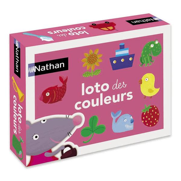 Loto des couleurs Nathan Jeux   King Jouet, Premiers apprentissages ... fe386ee90d0b