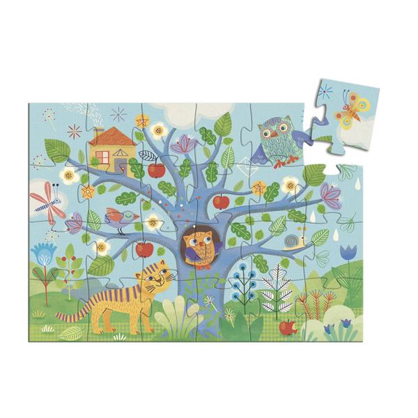 Puzzle 24 pièces Coucou Hibou