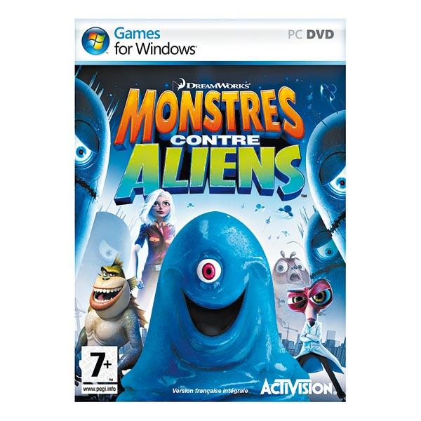 Monstres contre Aliens sur PC+ Jeux vidéos +