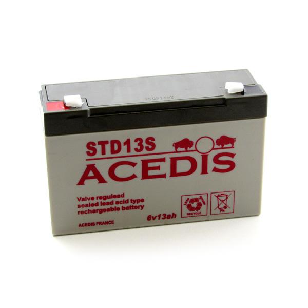 Batterie 6V13 - 3AH