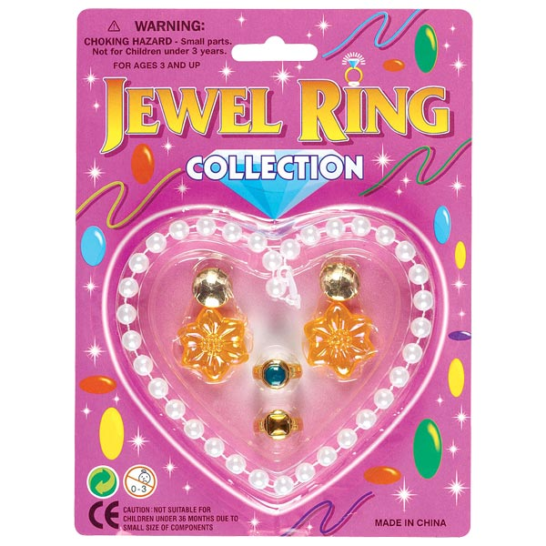Parure bijoux coeur pour 3€