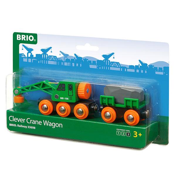 Brio 33698-wagon grue ingénieux
