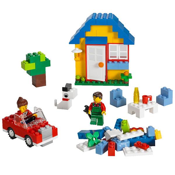 5899 set de construction maisons lego king jouet lego planchettes autres lego jeux de. Black Bedroom Furniture Sets. Home Design Ideas