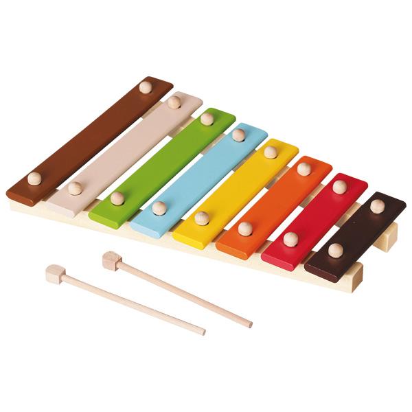 xylophone en bois massif wood n play king jouet jouets. Black Bedroom Furniture Sets. Home Design Ideas