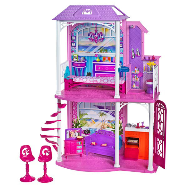 maison barbie jouet club. Black Bedroom Furniture Sets. Home Design Ideas