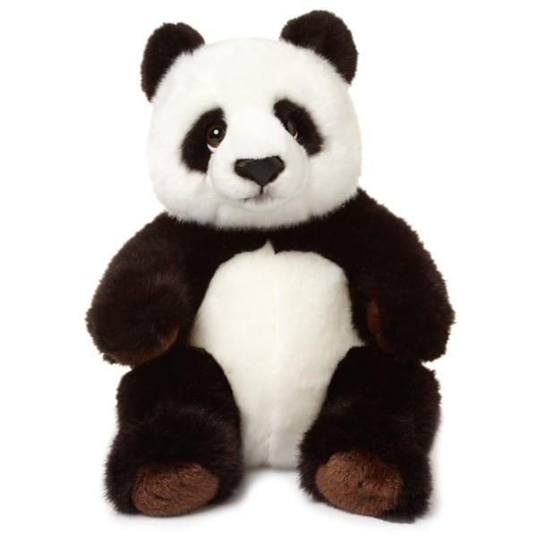 wwf panda assis 32 cm de neotilus. Black Bedroom Furniture Sets. Home Design Ideas
