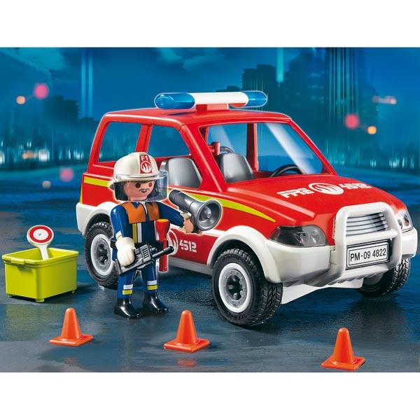 Playmobil les pompiers caserne camion h licopt re - Playmobil de pompier ...