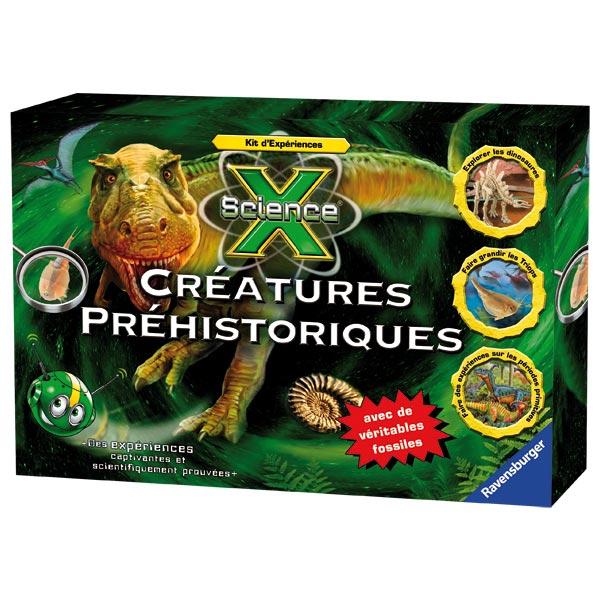 Kit d'expériences créatures préhistoriques pour 42€