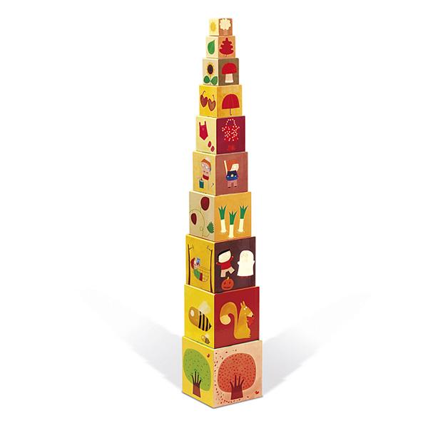 Pyramide carrée les 4 saisons