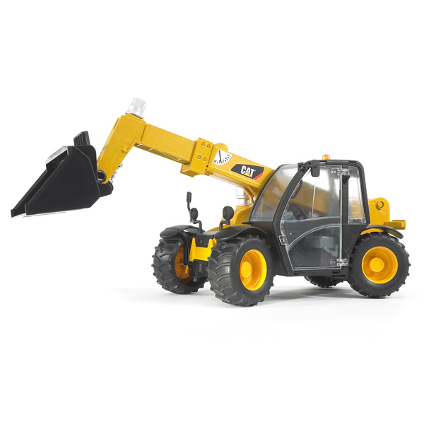 chargeur t lescopique caterpillar bruder king jouet v hicules de chantier et tracteurs bruder. Black Bedroom Furniture Sets. Home Design Ideas