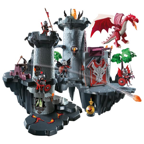 playmobil les chevaliers dragon guerrier chevalier. Black Bedroom Furniture Sets. Home Design Ideas