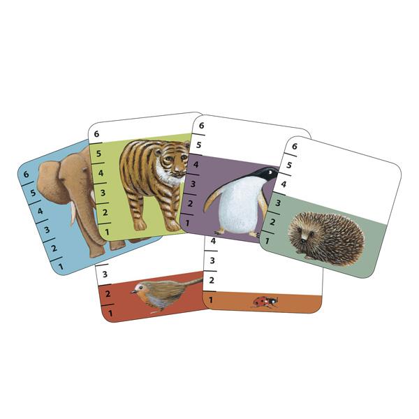 Jeu de cartes animaux batanimo