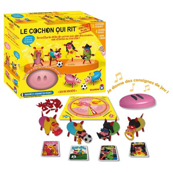 Direct jouets Vente en ligne : cochon qui rit