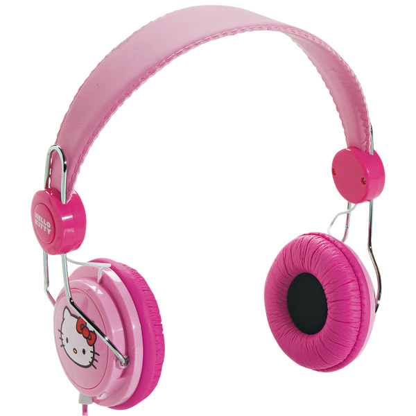 Casque audio Rose Hello Kitty+ Audio / Photo +