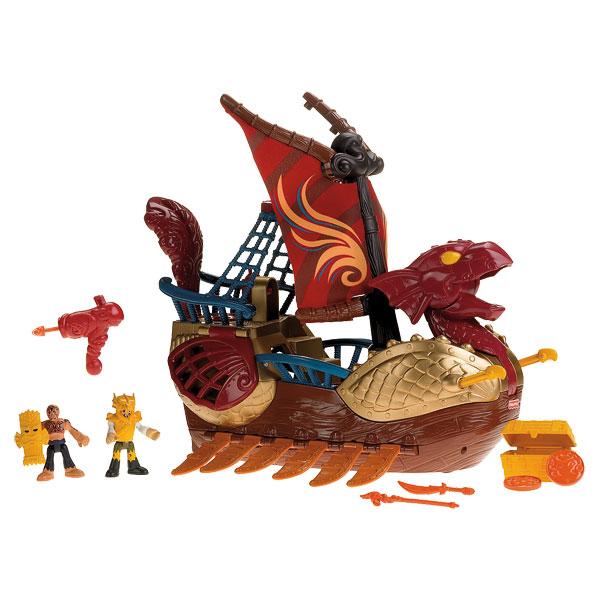 Bateau dragon imaginext pour 50€