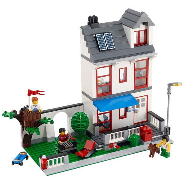 La maison lego city lego king jouet lego planchettes - Jeu de construction de maison en ligne ...