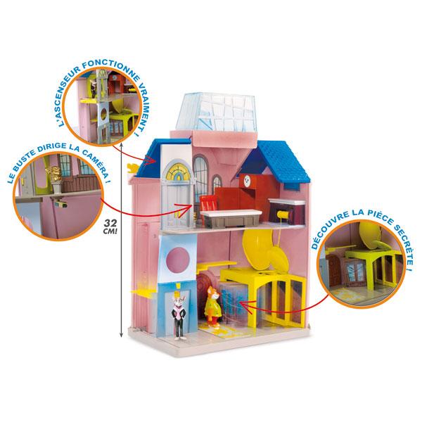 Playset groupe media stilton + 2 figurines pour 20€