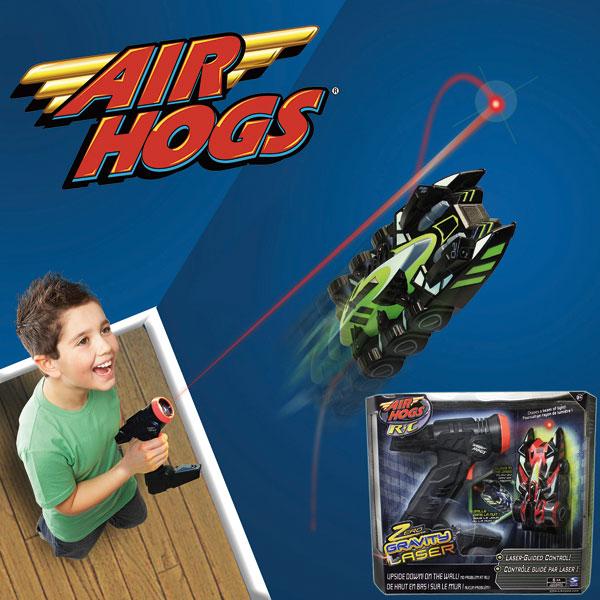 air hogs zero gravity laser racer instructions
