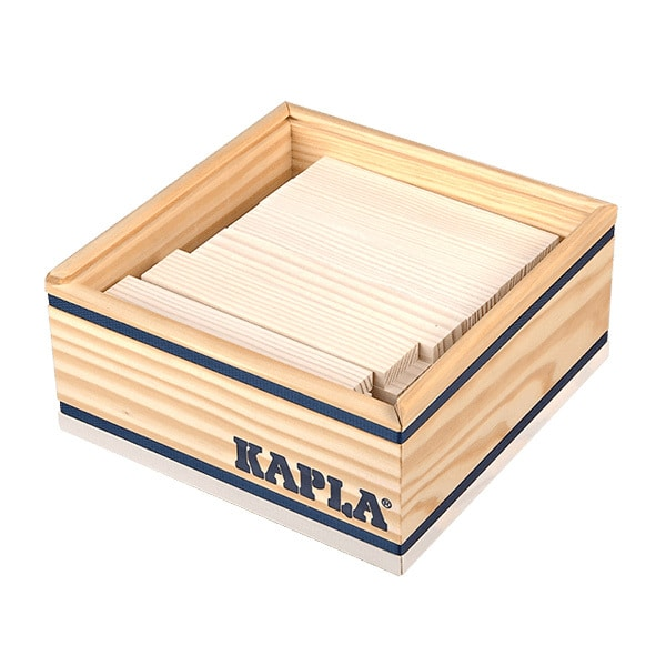 Kapla-40 planchettes blanches