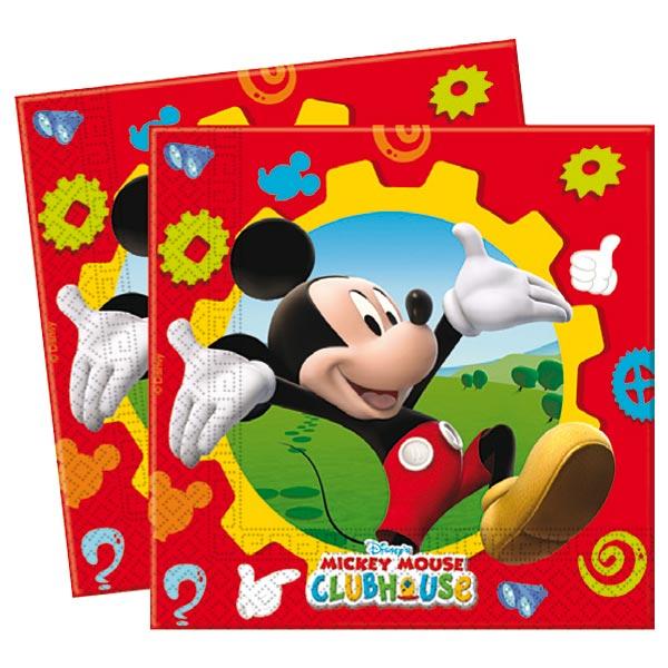 16 serviettes mickey pour 5€
