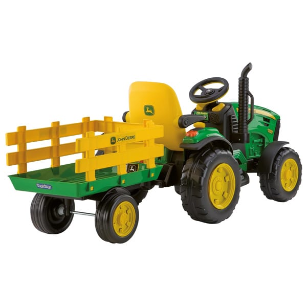 tracteur john deere ground force 12v peg perego king jouet v hicules lectriques peg perego. Black Bedroom Furniture Sets. Home Design Ideas