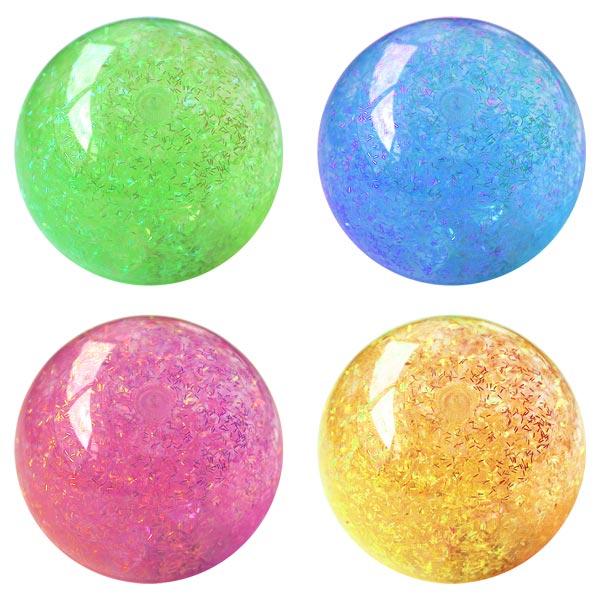 Balle rebondissante lumineuse diamant pour 7€