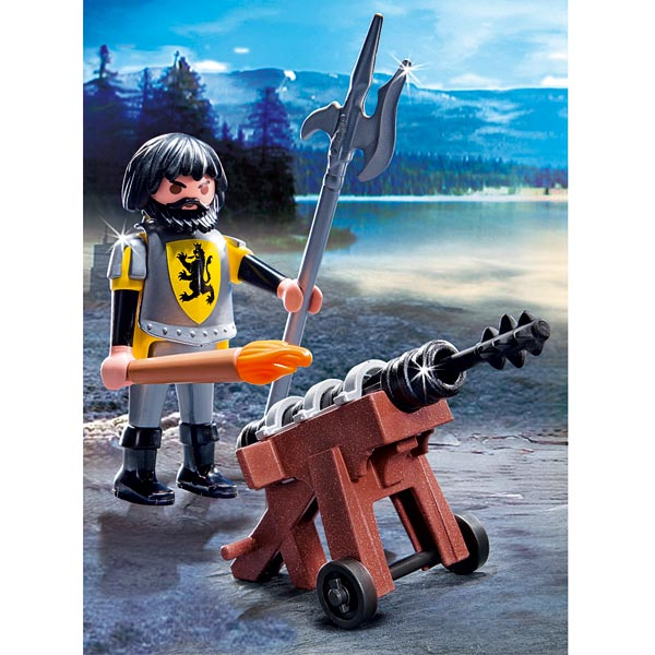 Playmobil 4865 ch teau fort des chevaliers du lion moins for Plan chateau fort playmobil