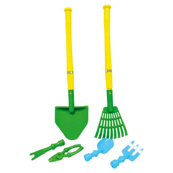 Set 6 outils de jardin Logitoys : King Jouet, Faire comme ...