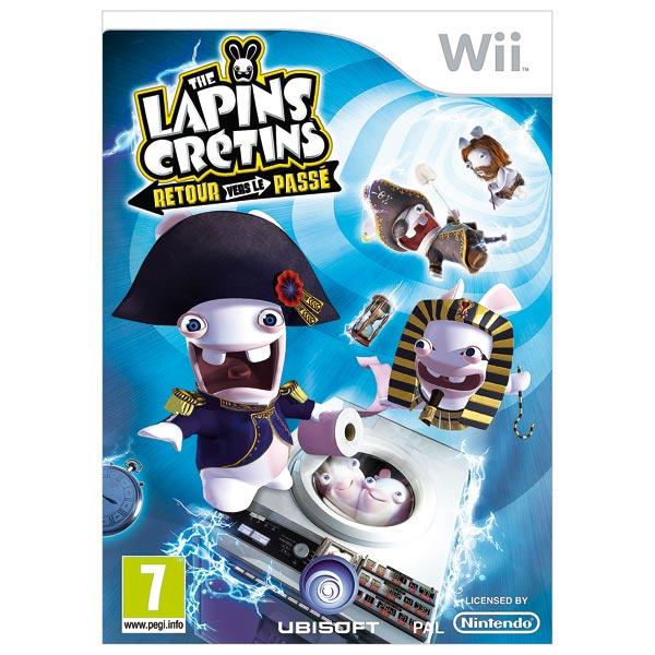 Jeu Wii Les Lapins Crétins Le Retour vers le passé+ Jeux vidéos + Nintendo WII