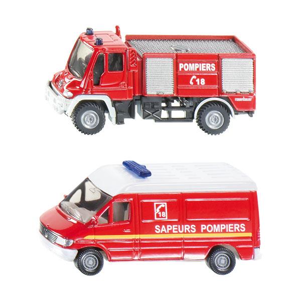 Véhicules sapeurs pompiers SIKU
