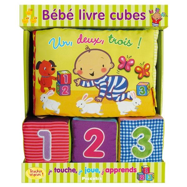 Livre cubes bébé 123 pour 20€