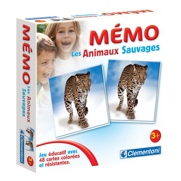 Mémo des animaux sauvages WWF 2850 : Magasin de jouets et jeux en ligne en