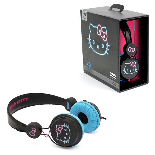 Casque Hello Kitty Night+ Audio / Photo +