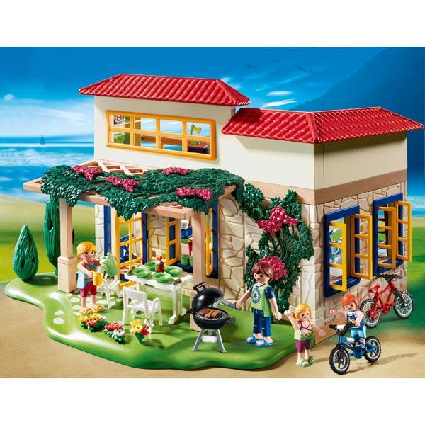 Maison de campagne playmobil for Modele maison playmobil
