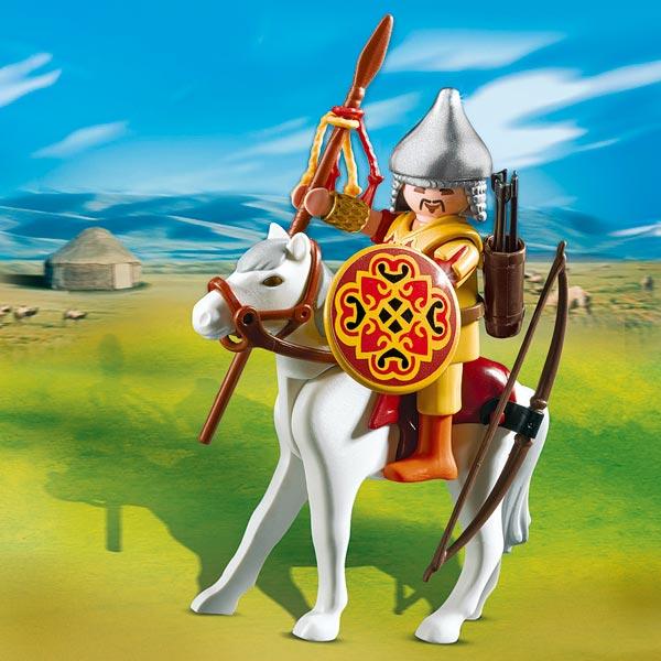 4926-oeuf guerrier mongol à cheval pour 6€